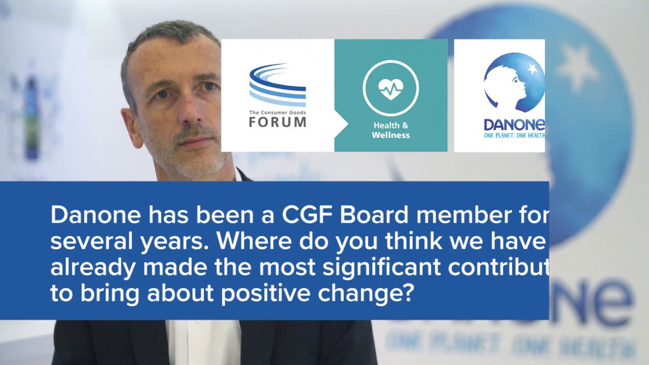 Full Interview: CGF Talks to Emmanuel Faber, CEO Danone in Singapore