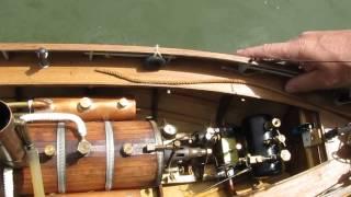 preview picture of video 'Luisant 2013 LACMN : Le remorqueur (tugboat) SNIP de Patrice - Modélisme naval bateau RC'
