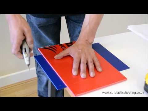 How To Drill & Cut Foamex PVC Board