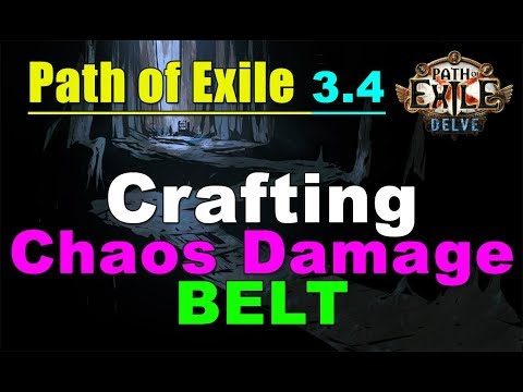 Path of Exile Delve: The Crafting of Blight Salvation