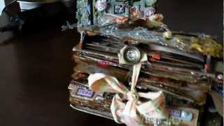 Cottage Chic Altered Book Challenge (Re-Upload)
