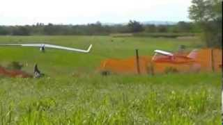 preview picture of video 'Decolli e atterraggi aerei e aliante da diporto'