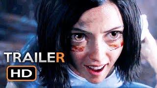 ALITA: BATTLE ANGEL Official Trailer 2 (2018) James Cameron Sci-Fi Action Movie HD
