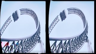 3D ROLLER COASTERS COLLECTION VR Videos 3D SBS Google Cardboard VR Virtual Reality VR Box Video 3D