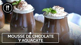 Mousse de chocolate y aguacate, un sabroso postre listo en 15 minutos y sin horno