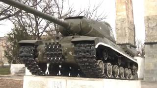 preview picture of video '[Tajik] WW2 Victory Monument with Tank, Dushanbe 승전기념비 + 탱크'