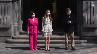 Su Alteza Real la Princesa de Asturias preside en el Instituto Cervantes el acto de conmemoración del 30 aniversario de la creación del organismo para