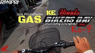 RIWIPRI - Gas ke HONDA BIKERS DAY 2017 [Bicyclevlog]