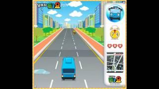 타요 버스 레이싱 게임 Tayo the little bus racing game
