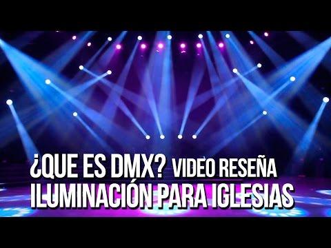 ¿Que es DMX? Iluminación para iglesias