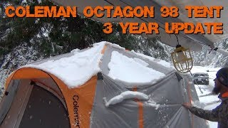 Coleman Octagon 98 Family Tent - 3 Years of Use Update