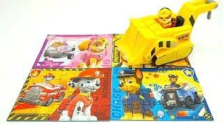 Щениячий патруль пазлы и игрушки для детей