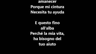 Alvaro Soler La Cintura Letralyrics E Traduzione