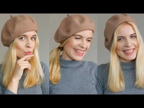 Baskenmütze richtig tragen - verschiedene Varianten