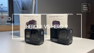GOPRO HERO 8 VS HERO 9 | WHICH ONE FOR CINEMATIC FPV?