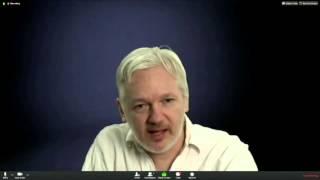 Julian Assange on DiEM25