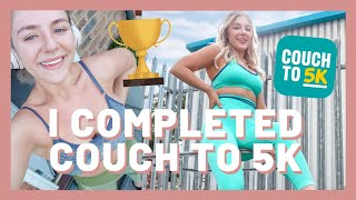 I COMPLETED COUCH TO 5K | MY EXPERIENCE, TIPS & ADVICE FOR RUNNING