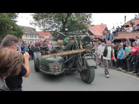 Мотоцикл-гигант с двигателем от танка 2