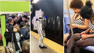 videos de risa transporte publico