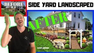 How To Landscape Design Side Yard