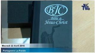 Présentation de l'édition 2015 de la BJC (22/04/15)