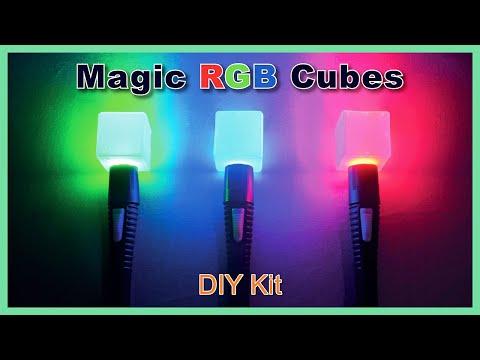 Magic RGB Cubes - Physics  Kit