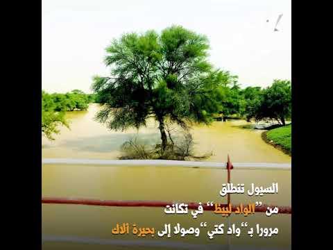 فيديو يتتبع آثار السيول الأخيرة في ولاية لبراكنة