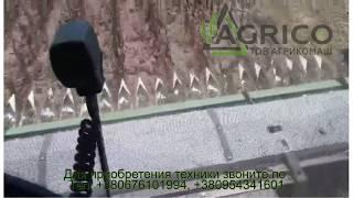 Жатка для подсолнечника безрядковая 6; 7,4; 9,1 м от компании Агрикомаш ООО - видео