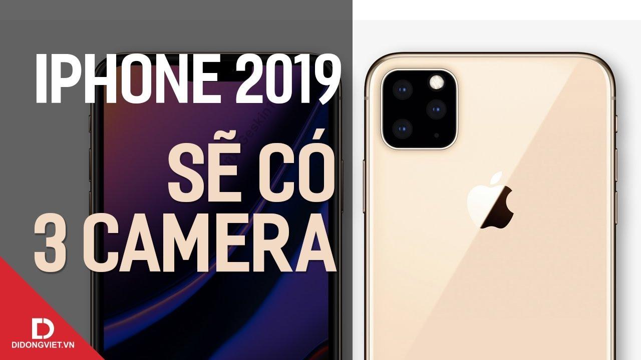 iPhone 2019 sẽ có 3 camera: để làm gì?