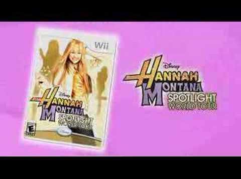 Видео № 0 из игры Hannah Montana Spotlight World Tour (Б/У) [Wii]