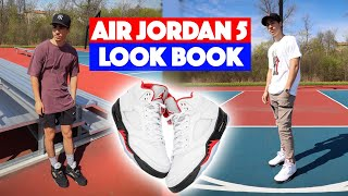 How To Style: Air Jordan 5 (Outfit Ideas)