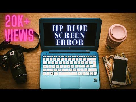 HP Stream Laptop Blank Blue Screen Error