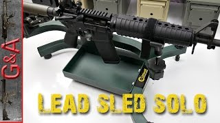 Caldwell Lead Sled Solo Review