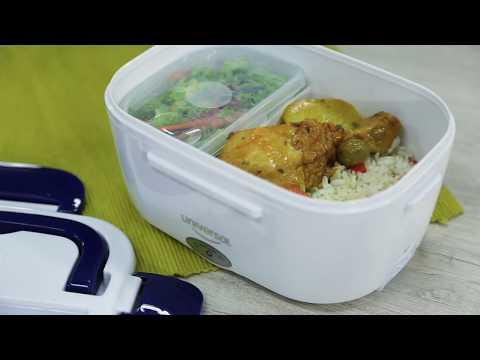¿Cómo calentar tu comida en segundos? ¡Fácil! Usa nuestra lonchera eléctrica!