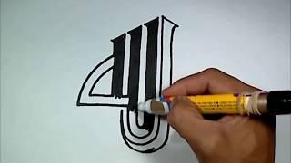 Cara Menggambar Kaligrafi Allah Art10 Arabic Calligraphy