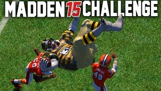 Madden NFL 15 Challenge   Can A Giant Player Hurdle A Tiny Player?