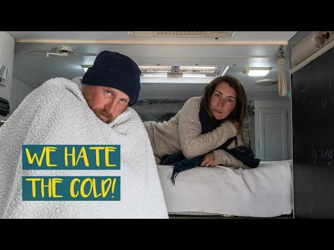 FULL-TIME TRUCK CAMPER LIVING: RACING a WINTER STORM into YELLOWSTONE NATIONAL PARK // CtW S1.5: E6