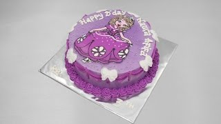Princess Sofia Cake Easy