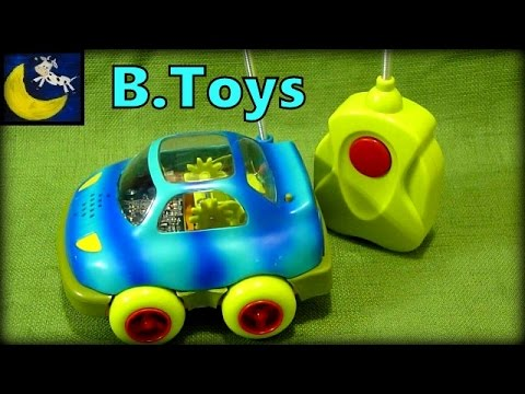 B. Toys Wheeee-mote Control Car Review (Best Remote Control Car for Toddlers!)