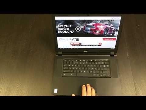 Acer Chromebook 15 (C910) Core i5 Review