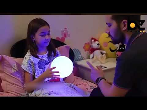 Colorful Moon Lamp