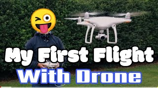 My First Flight | DJi phantom 4 | Drone shoot | TR