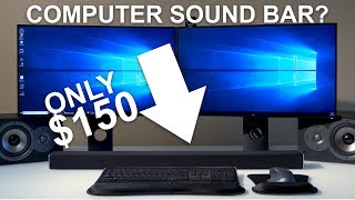 Sound Bar For COMPUTERS? Surprisingly Good