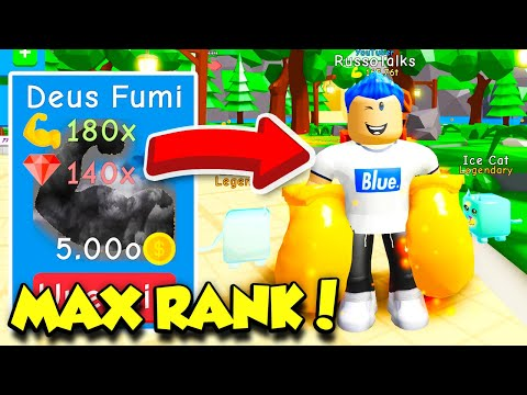 I Got MAX RANK In BOXING SIMULATOR And Got The $272,000,000,000,000 GLOVES! (Roblox)
