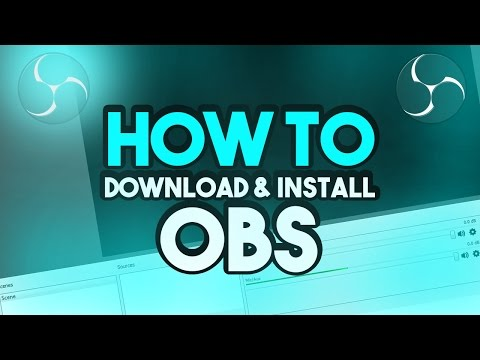 How To: Download and Install OBS