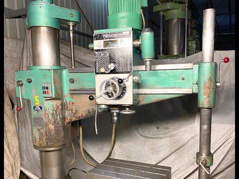 Olcina Double Column Radial Drill