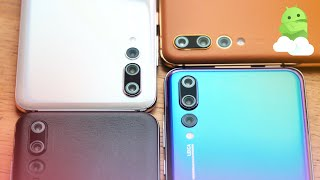 Huawei P20 Pro New Colors + Leather @ IFA 2018 [MORPHO AURORA!]