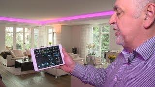 Die multimediale Wohnung mit CRESTRON Steuerung - ein Traum in Technik und Funktion