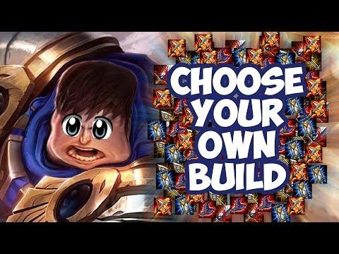 Garen - Choose Your Own Build - League of Legends