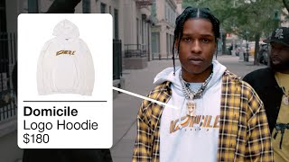 A$AP ROCKY OUTFITS IN PRAISE THE LORD  FUKK SLEEP  TONY TONE [ASAP ROCKY CLOTHES]